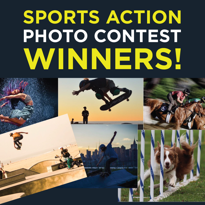 Announcing the Winners of the 2015 Sports Action Contest