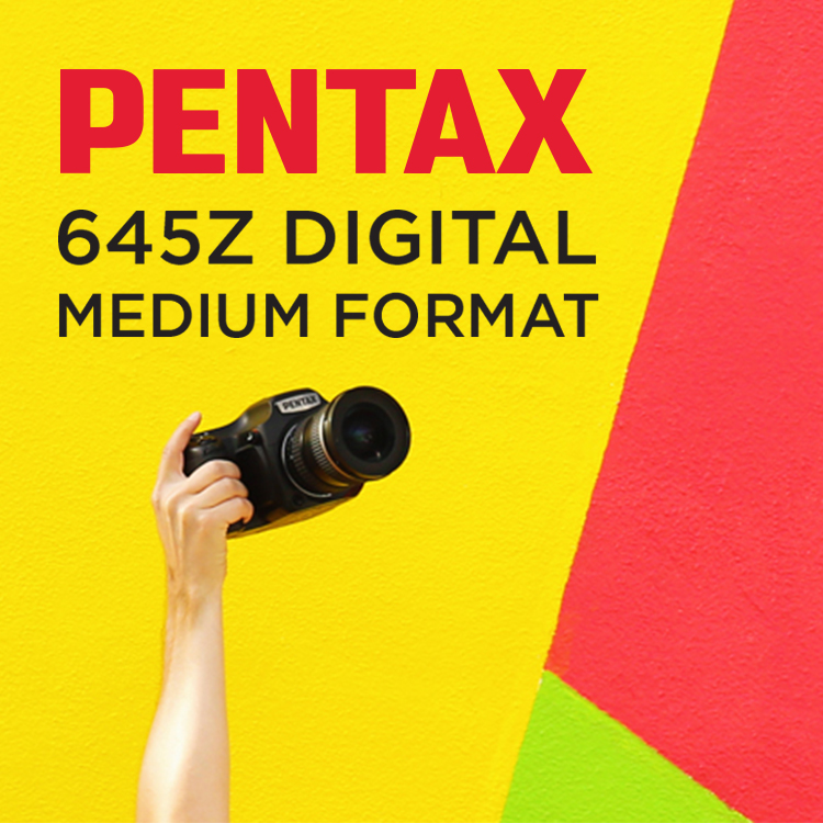 Pentax 645Z Digital Medium Format Camera by Kimberly Genevieve
