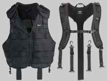 lowepro photo vests, lowepro photo apparel