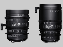 sigma cinema lenses, sigma cinema lens, sigma lenses, sigma