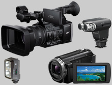 sony camcorder, sony video, sony hd video, sony