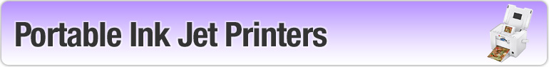 portable inkjet printers