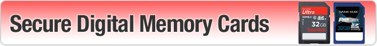 secure digital memory cards, sd cards