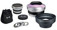 aux lenses, Telephoto Lenses, Wide Angle Lens, Macro Lenses,