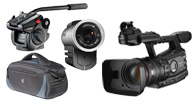 video cameras, camcorders, video tripods, action cam, video camera accessories,