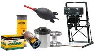 darkroom supplies, 35mm film, 120 film, instant film, camera film, impossible instant film,