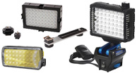 On Camera Lights, shoe mount lights, led shoe mount lighting, mountable light for video