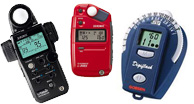 light meters, Spot Meters, Flash Meters, Ambient Meters, Color Meters, Light Meter Accessories