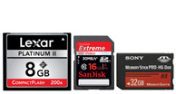 memory card, memory cards, sd card, cf card