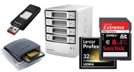 memory cards, sd card, compact flash card, extrenal hard drive, hard drives, usb drive, flash drive