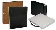 Portfolios, Presentation Books, Archival Storage Binders, Archival Storage Containers, Archival CD/dvd, Film sleeves