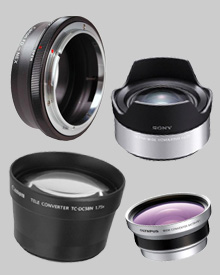 Auxiliary Lenses & Accessories