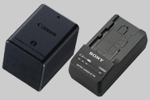 Video Camcorder Batteries & Power Adapters