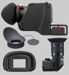 Diopters, Eyepieces, Eyecups & Focus Screens
