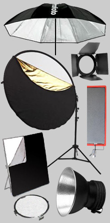 Reflectors & Light Modifiers