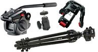 video tripods, video monopod, video tripod heads