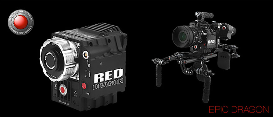 RED Epic Dragon digital cinema camera