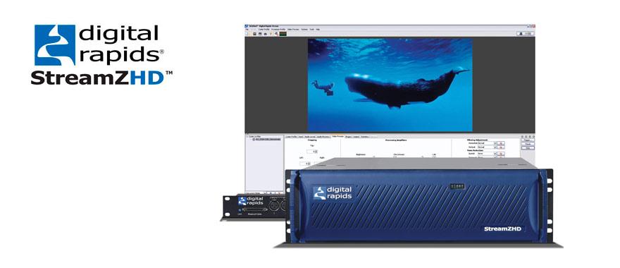 Samy's Camera: Digital Rapids Stream ZHD