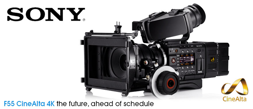 Sony PMW F55 CineAlta digital cinema camera