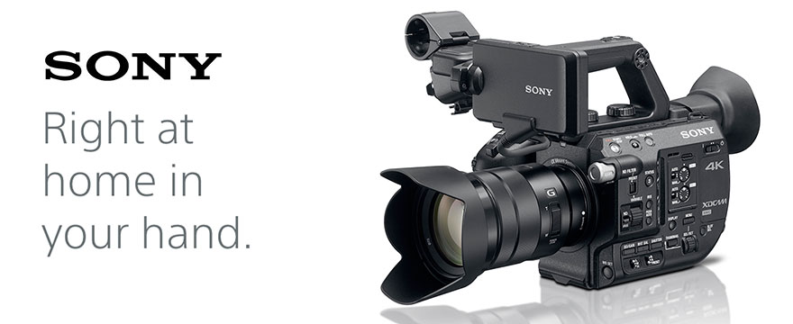 Sony PXW FS5 4k cinema camera