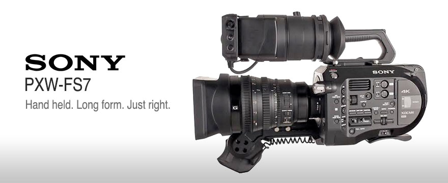 Sony PXW FS7 4k cinema camera