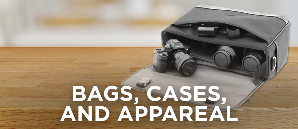 Bags, Cases & Apparel