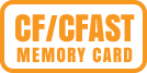 CF Card (Type I, compatible with UDMA 7 CF cards) and CFast Card (CFast 2.0 supported)