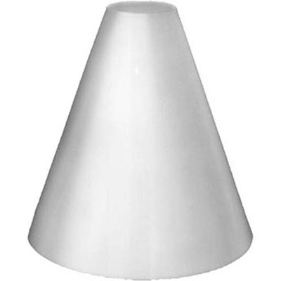 19.5 x 19.5 In. Large Acryl Diffuser Cone