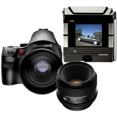 P45+ Back Bundle with 645DF Body and 80mm Lens