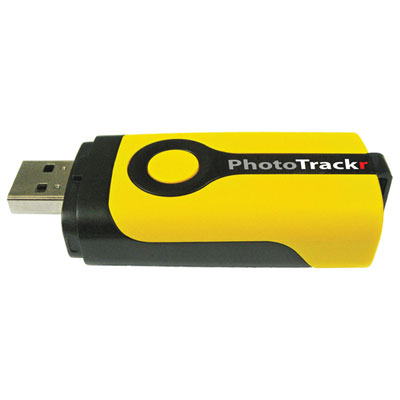 DPL900 PhotoTrackr Mini Digital GPS Geo-Mapping Device
