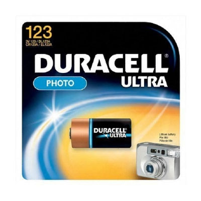 Image of Duracell DL123ABPK Ultra Lithium Battery