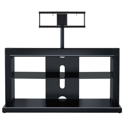 Proforma 2-in-1 TV Stand Satin Black for TVs up to 46