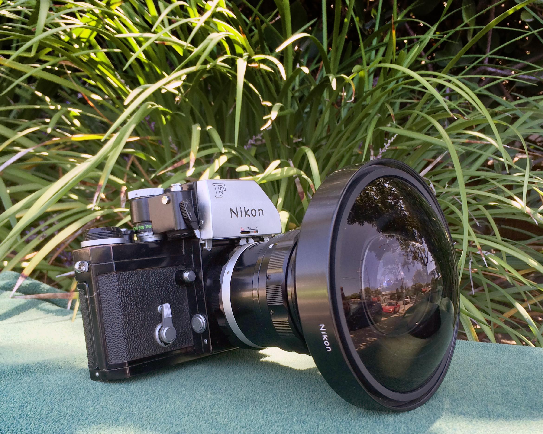 Nikkor 8mm f2.8 Fisheye Lens