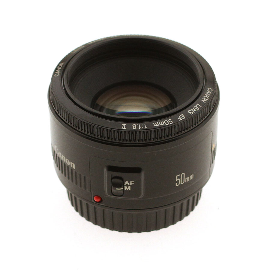 USED CANON 50MM F1.8 EF II LENS