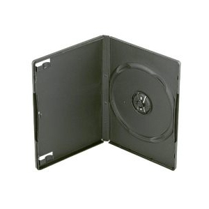 Image of Edgewise Media Single DVD Movie Case - Black