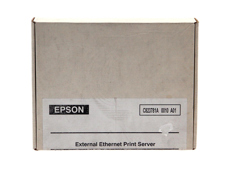 EpsonNet 10/100 Base-TX External Print Server