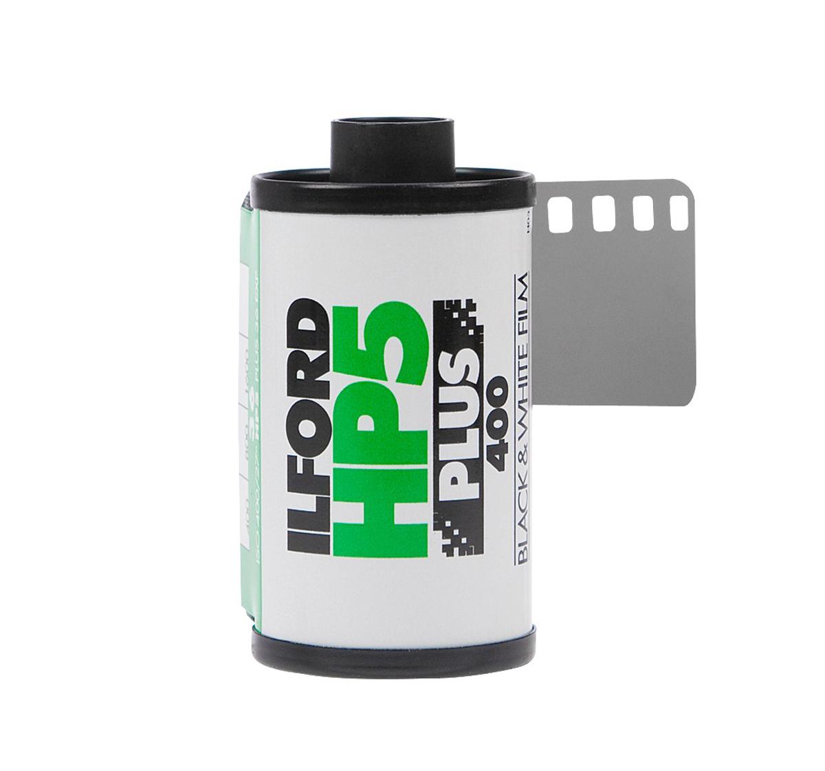 HP5 Plus 400 B&W Negative Film, 135mm, 24 Exposures, Single Roll
