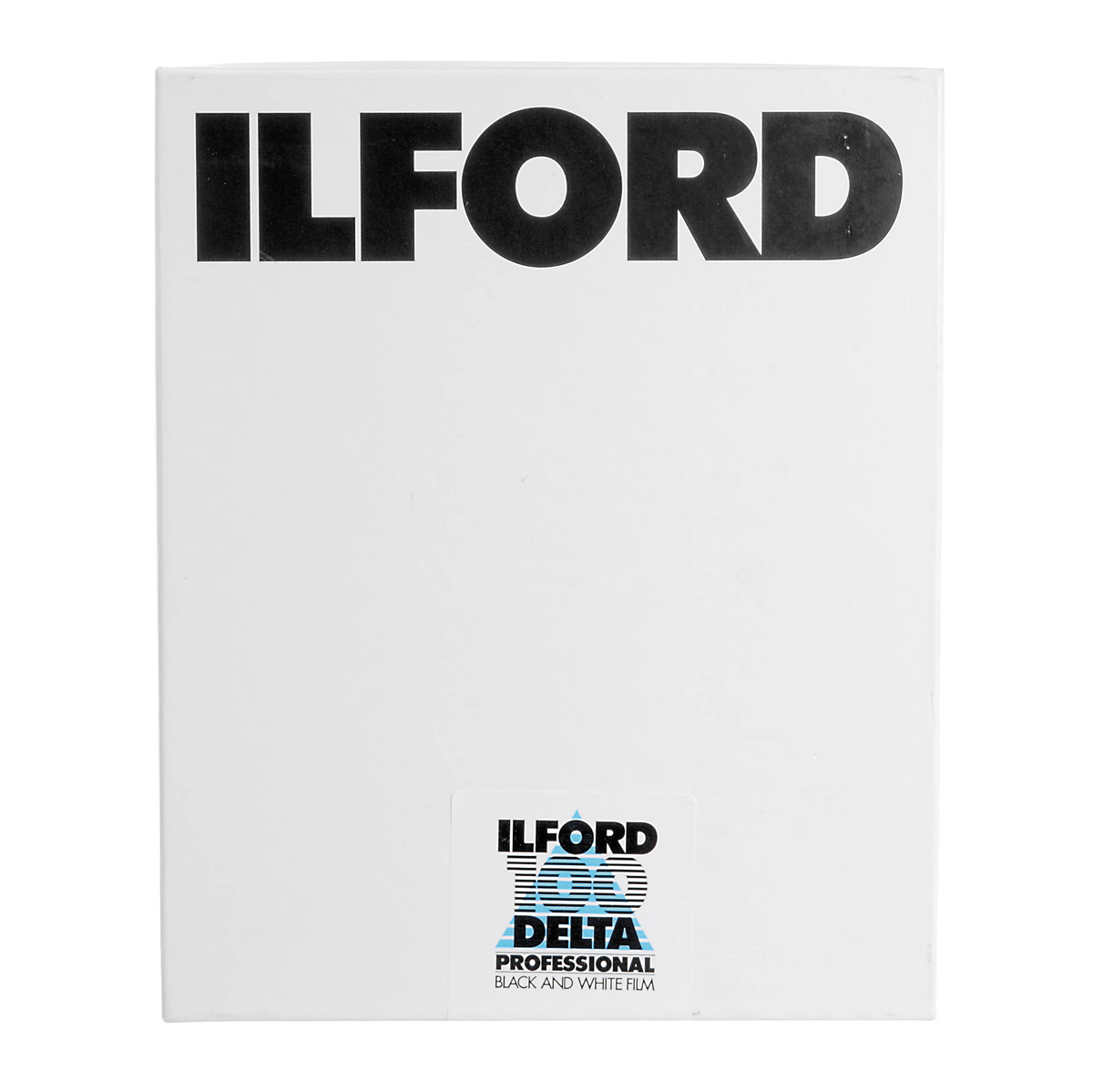Image of Ilford Delta-100 Professional 4x5in. 100 Sheets B&W Negative Film (ISO-100)