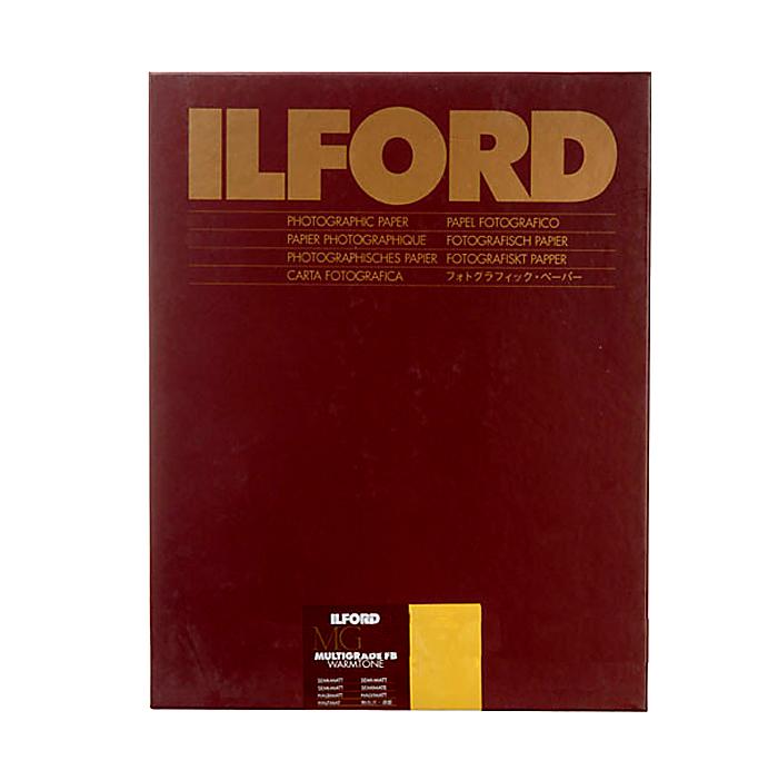11 x 14 Multigrade FB Fiber B&W Paper, Semi-Matte Surface, 50 Sheets