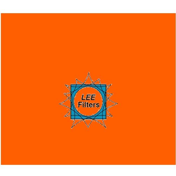 Gel Sheet 135 Deep Golden Amber Lighting Filter