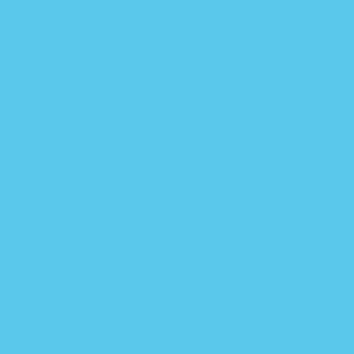 Gel Sheet 165 Daylight Blue Lighting Filter 21x24