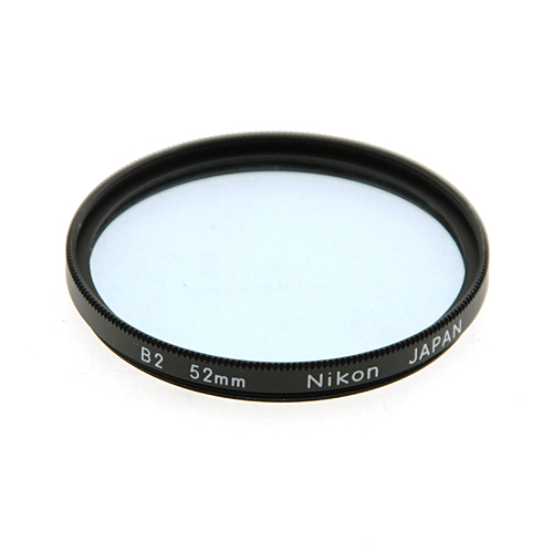 52mm B2 82A Color Conversion Filter