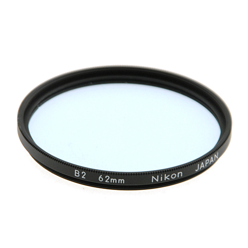 62mm B2 82A Color Conversion Filter