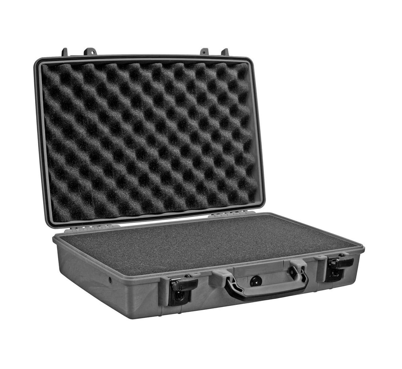 1490 Attache/Computer Case with Foam Black