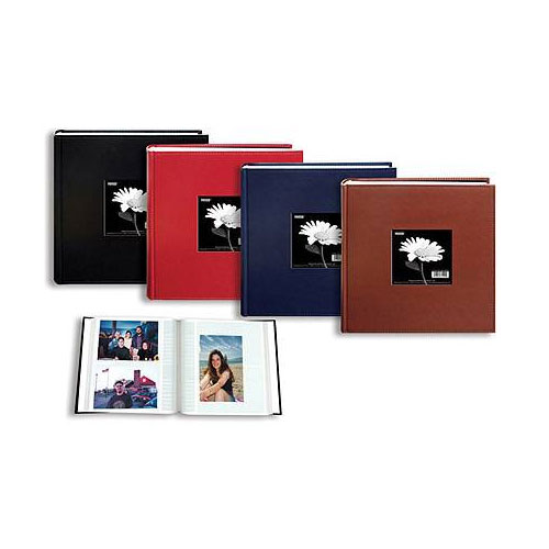 Image of Pioneer 4x6 Sewn Leatherette Frame Album (Assorted Colors)