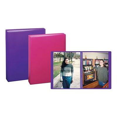 4x6 Mini Poly Photo Album Assorted Colors