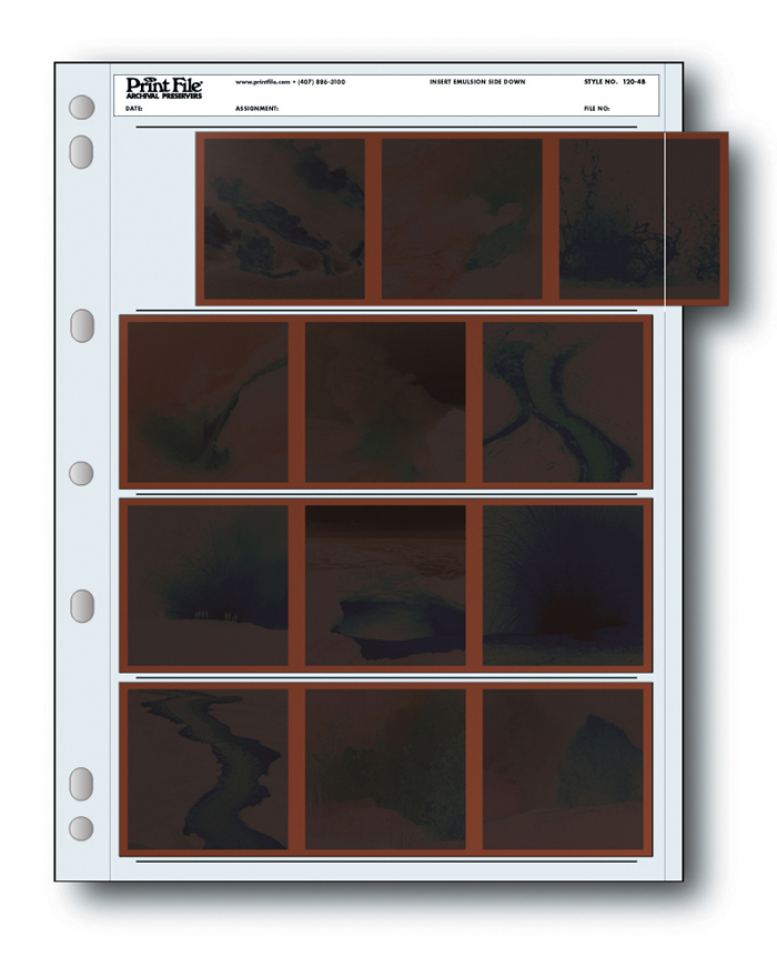 Image of Print File 120-4B 120 Size Negative Pages (Pack of 100)