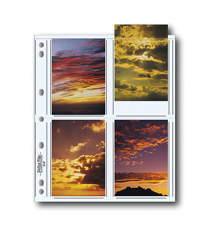 Image of Print File 35-8P Photo Pages (25 Pack)