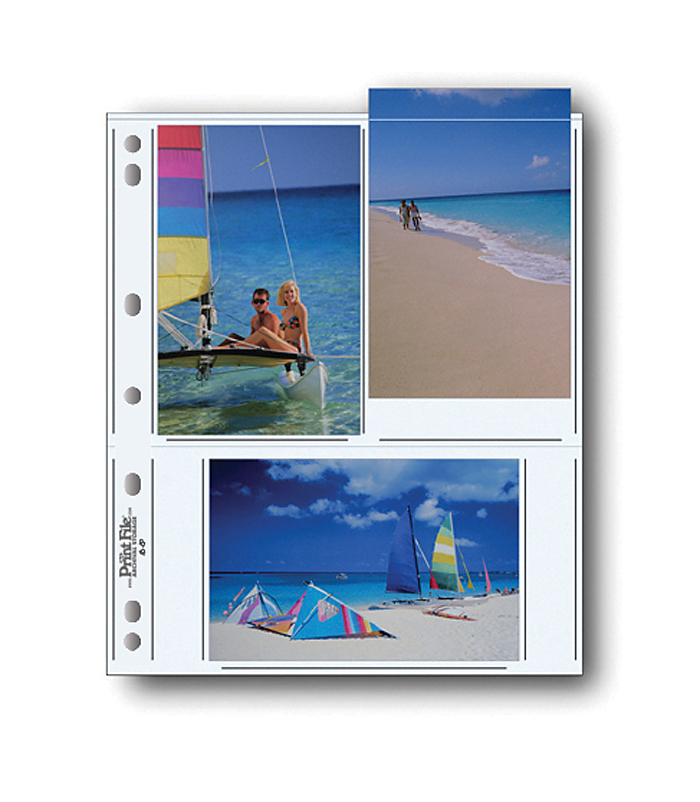 Image of Print File 46-6P Photo Pages (25 Pack)