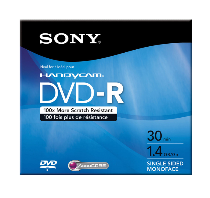 DVD-R Recordable Media Disc